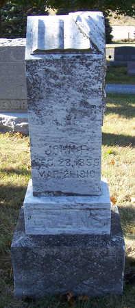 MEANS, JOHN F. - Shelby County, Iowa   JOHN F. MEANS