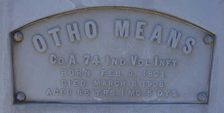 MEANS, OTHO (MILITARY) (CLOSE-UP) - Shelby County, Iowa | OTHO (MILITARY) (CLOSE-UP) MEANS
