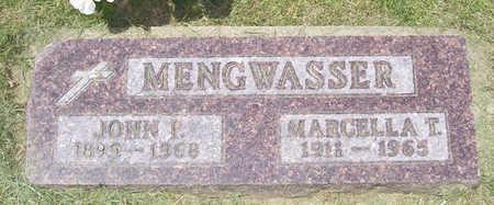 MENGWASSER, MARCELLA T. - Shelby County, Iowa | MARCELLA T. MENGWASSER