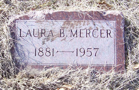 MERCER, LAURA B. - Shelby County, Iowa | LAURA B. MERCER