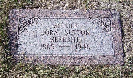 MEREDITH, CORA (MOTHER) - Shelby County, Iowa | CORA (MOTHER) MEREDITH