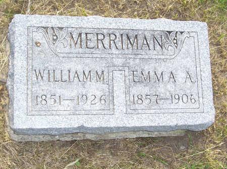 MERRIMAN, EMMA A. - Shelby County, Iowa   EMMA A. MERRIMAN