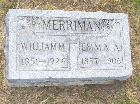MERRIMAN, WILLIAM M. - Shelby County, Iowa | WILLIAM M. MERRIMAN