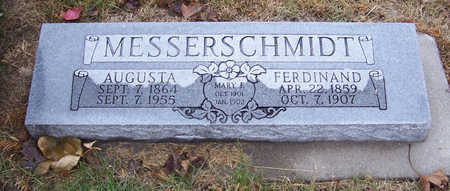 MESSERSCHMIDT, AUGUSTA - Shelby County, Iowa | AUGUSTA MESSERSCHMIDT