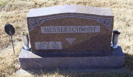 MESSERSCHMIDT, DALE K. - Shelby County, Iowa   DALE K. MESSERSCHMIDT