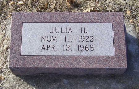 MESSERSCHMIDT, JULIA H. - Shelby County, Iowa | JULIA H. MESSERSCHMIDT