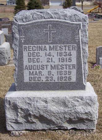 MESTER, AUGUST & REGINA - Shelby County, Iowa | AUGUST & REGINA MESTER