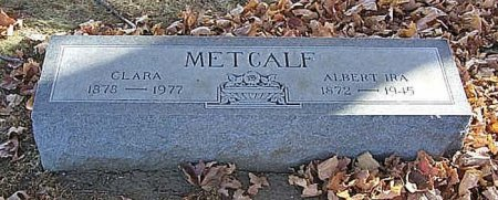 CAMPBELL METCALF, CLARA - Shelby County, Iowa | CLARA CAMPBELL METCALF