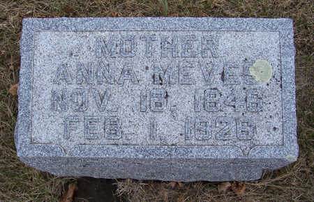 MEVES, ANNA (MOTHER) - Shelby County, Iowa | ANNA (MOTHER) MEVES