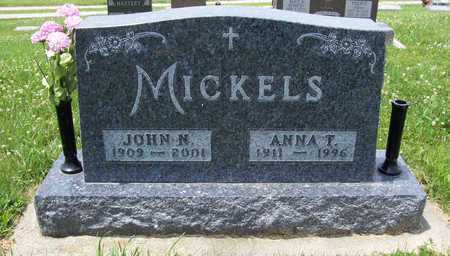 MICKELS, ANNA T. - Shelby County, Iowa | ANNA T. MICKELS
