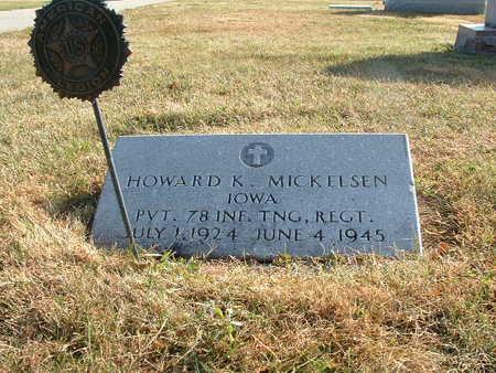 MICKELSEN, HOWARD K. - Shelby County, Iowa | HOWARD K. MICKELSEN