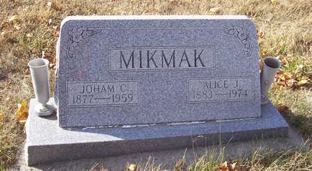 MIKMAK, JOHAM C. - Shelby County, Iowa   JOHAM C. MIKMAK