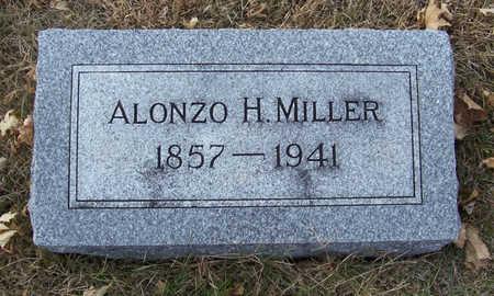MILLER, ALONZO H. - Shelby County, Iowa | ALONZO H. MILLER