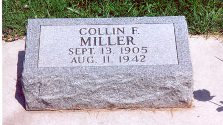 MILLER, COLLIN F. - Shelby County, Iowa | COLLIN F. MILLER