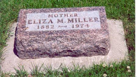MILLER, ELIZA M. - Shelby County, Iowa | ELIZA M. MILLER