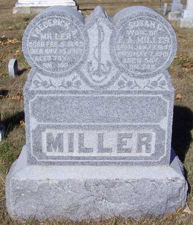 MILLER, FREDERICK A. - Shelby County, Iowa | FREDERICK A. MILLER