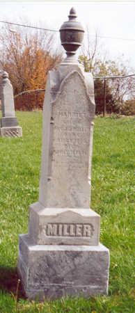 MILLER, HARRIETT - Shelby County, Iowa | HARRIETT MILLER