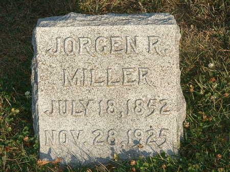 MILLER, JORGEN R - Shelby County, Iowa   JORGEN R MILLER