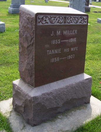 MILLER, J. M. - Shelby County, Iowa | J. M. MILLER