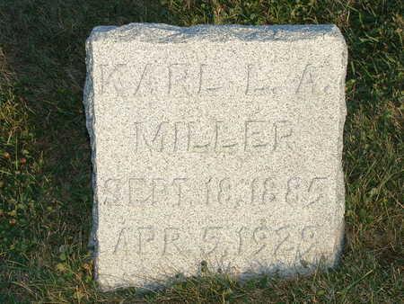 MILLER, KARL L A - Shelby County, Iowa   KARL L A MILLER