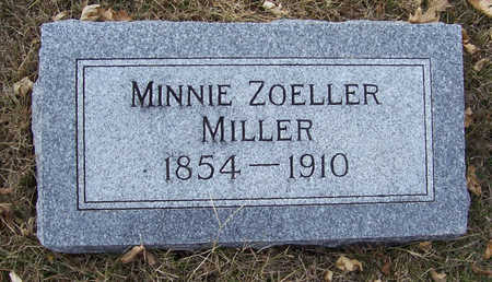 ZOELLER MILLER, MINNIE - Shelby County, Iowa | MINNIE ZOELLER MILLER
