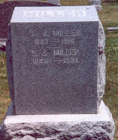 MILLER, T. J. & S. J. - Shelby County, Iowa   T. J. & S. J. MILLER