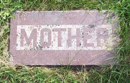 MILLER, TANNIE (MOTHER) - Shelby County, Iowa | TANNIE (MOTHER) MILLER