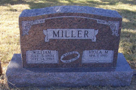 MILLER, WILLIAM - Shelby County, Iowa | WILLIAM MILLER