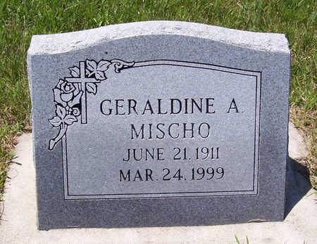 MISCHO, GERALDINE A. - Shelby County, Iowa | GERALDINE A. MISCHO