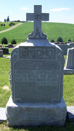 MISCHO, APOLLONIA - Shelby County, Iowa | APOLLONIA MISCHO
