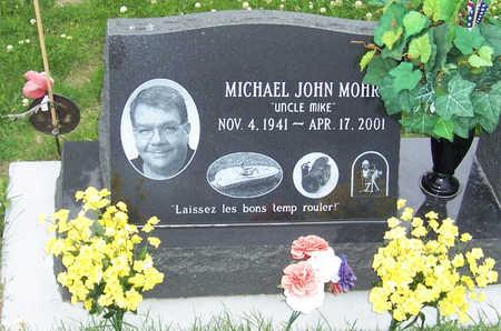 MOHR, MICHAEL JOHN - Shelby County, Iowa | MICHAEL JOHN MOHR