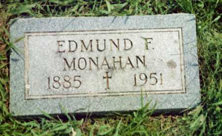 MONAHAN, EDMUND F. - Shelby County, Iowa | EDMUND F. MONAHAN