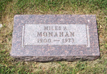 MONAHAN, MILES A. - Shelby County, Iowa | MILES A. MONAHAN