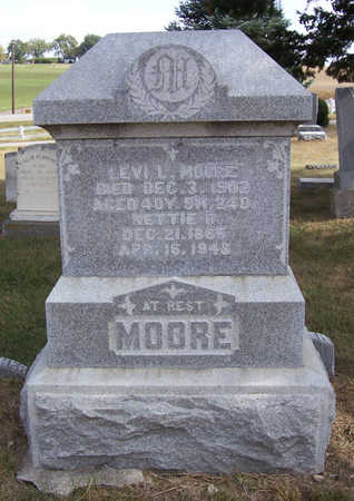 MOORE, LEVI L. - Shelby County, Iowa | LEVI L. MOORE