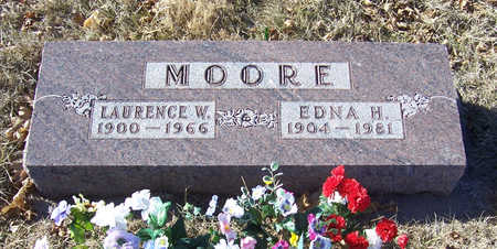 MOORE, EDNA H. - Shelby County, Iowa | EDNA H. MOORE