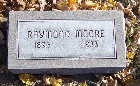 MOORE, RAYMOND - Shelby County, Iowa   RAYMOND MOORE