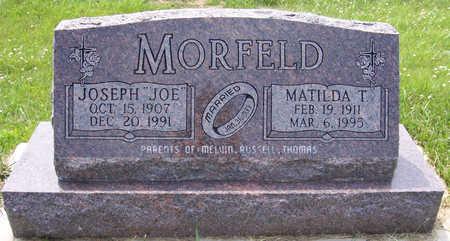 SONDERMAN MORFELD, MATILDA T. - Shelby County, Iowa   MATILDA T. SONDERMAN MORFELD