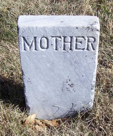 MORRIS, EVALINE A. (MOTHER) - Shelby County, Iowa | EVALINE A. (MOTHER) MORRIS