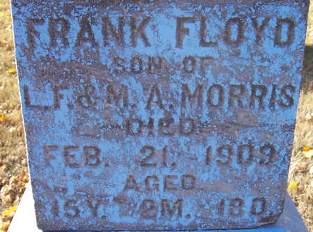 MORRIS, FRANK FLOYD (CLOSE-UP) - Shelby County, Iowa | FRANK FLOYD (CLOSE-UP) MORRIS