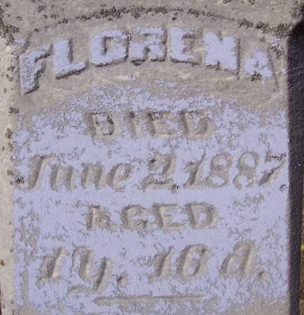 MORRIS, FLORENA - Shelby County, Iowa   FLORENA MORRIS