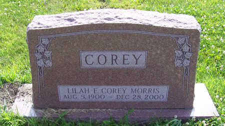 COREY MORRIS, LILAH E. - Shelby County, Iowa | LILAH E. COREY MORRIS