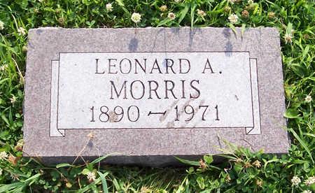 MORRIS, LEONARD A. - Shelby County, Iowa   LEONARD A. MORRIS