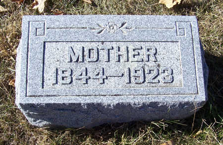 MORRIS, MOTHER - Shelby County, Iowa | MOTHER MORRIS