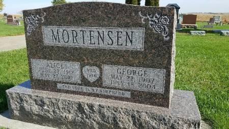 MORTENSEN, ALICE - Shelby County, Iowa   ALICE MORTENSEN