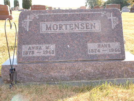 MORTENSEN, HANS - Shelby County, Iowa | HANS MORTENSEN