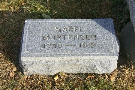MORTENSEN, MABEL - Shelby County, Iowa | MABEL MORTENSEN