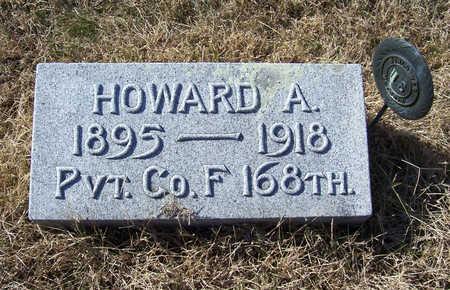 MOWRY, HOWARD A. (MILITARY) - Shelby County, Iowa | HOWARD A. (MILITARY) MOWRY
