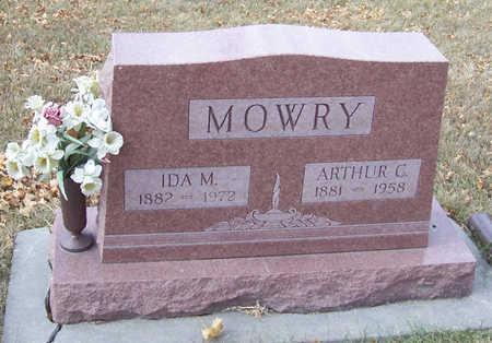 MOWRY, ARTHUR C. - Shelby County, Iowa | ARTHUR C. MOWRY