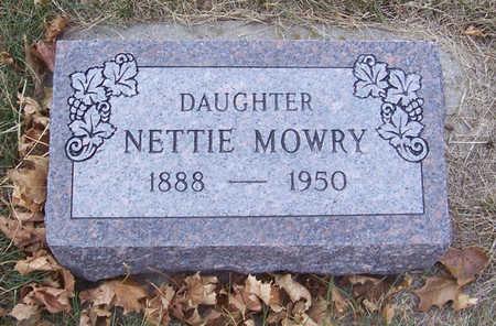 MOWRY, NETTIE - Shelby County, Iowa | NETTIE MOWRY