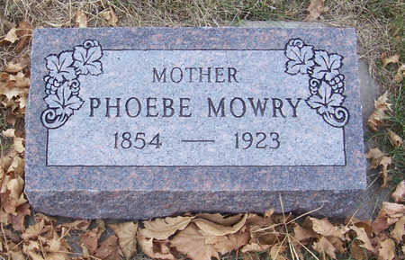 MOWRY, PHOEBE (MOTHER) - Shelby County, Iowa | PHOEBE (MOTHER) MOWRY